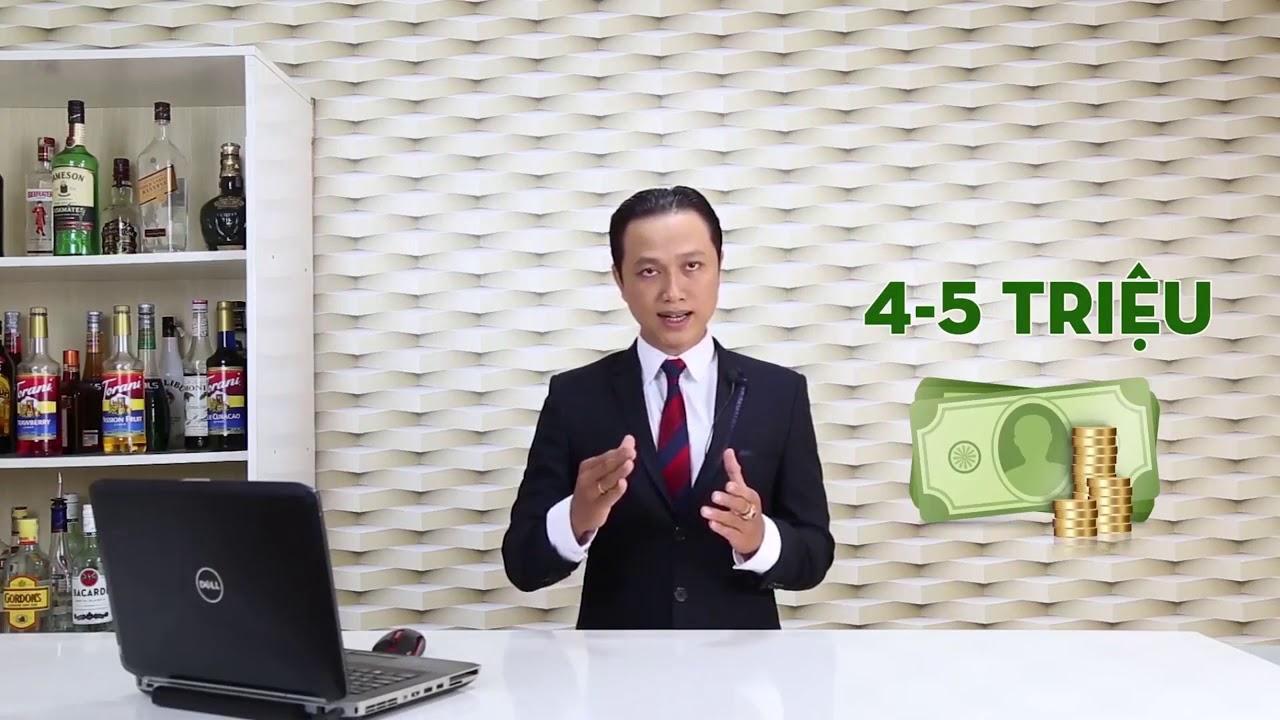 Đỉnh cao kỹ thuật pha chế   Nguyễn Tấn Trung