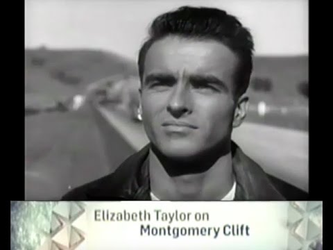 TCM Tribute  Elizabeth Taylor talks about Montgomery Clift