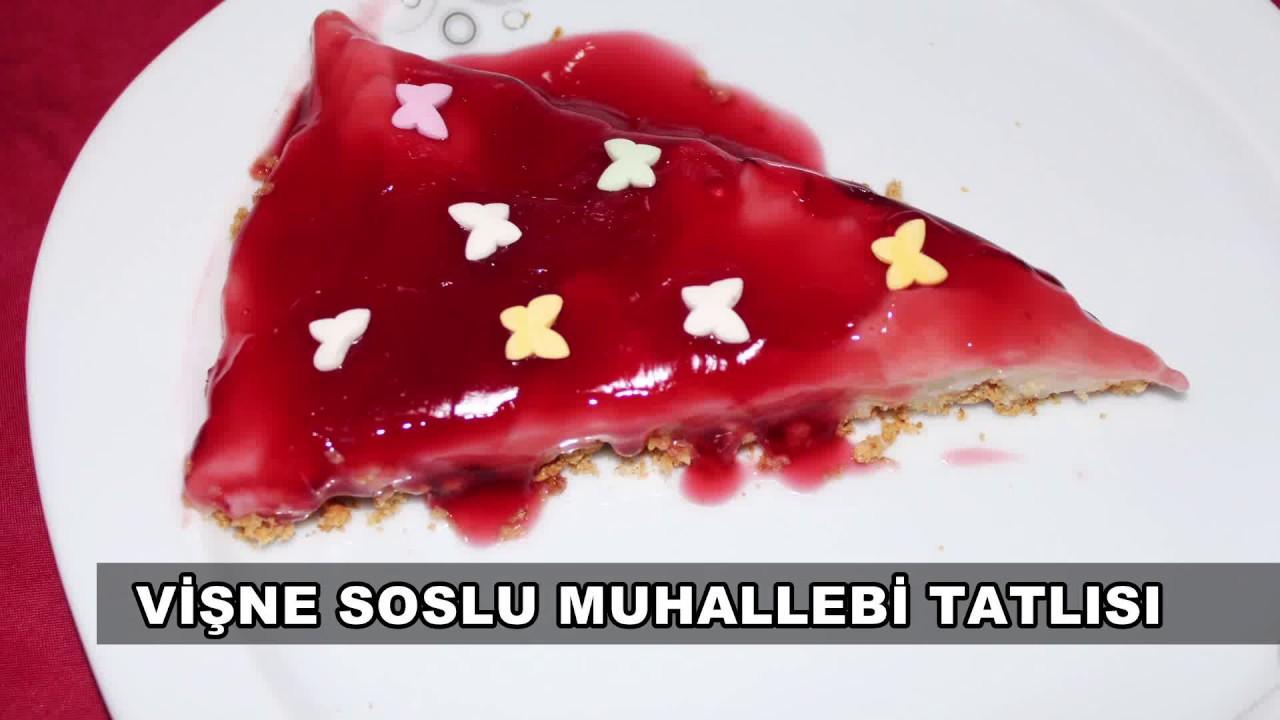 Vişne Soslu Kemal Paşa Tatlısı Tarifi – Sütlü Tatlı Tarifleri