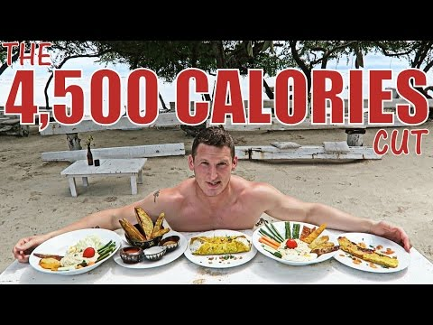 THE 4,500 CALORIE CUT - Full Day of Eating - The Gili Islands - 동영상