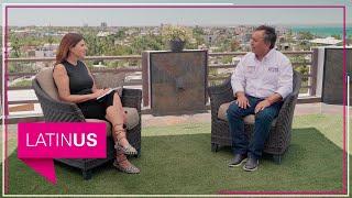 María Scherer entrevista a Francisco Pelayo, candidato a gobernar BCS de la alianza Unidos contigo.