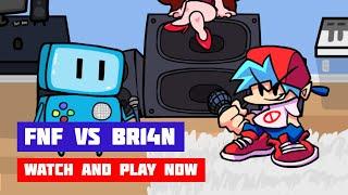 Friday Night Funkin' vs BR14N | FNF Skin Mod | Web Browser Online Port