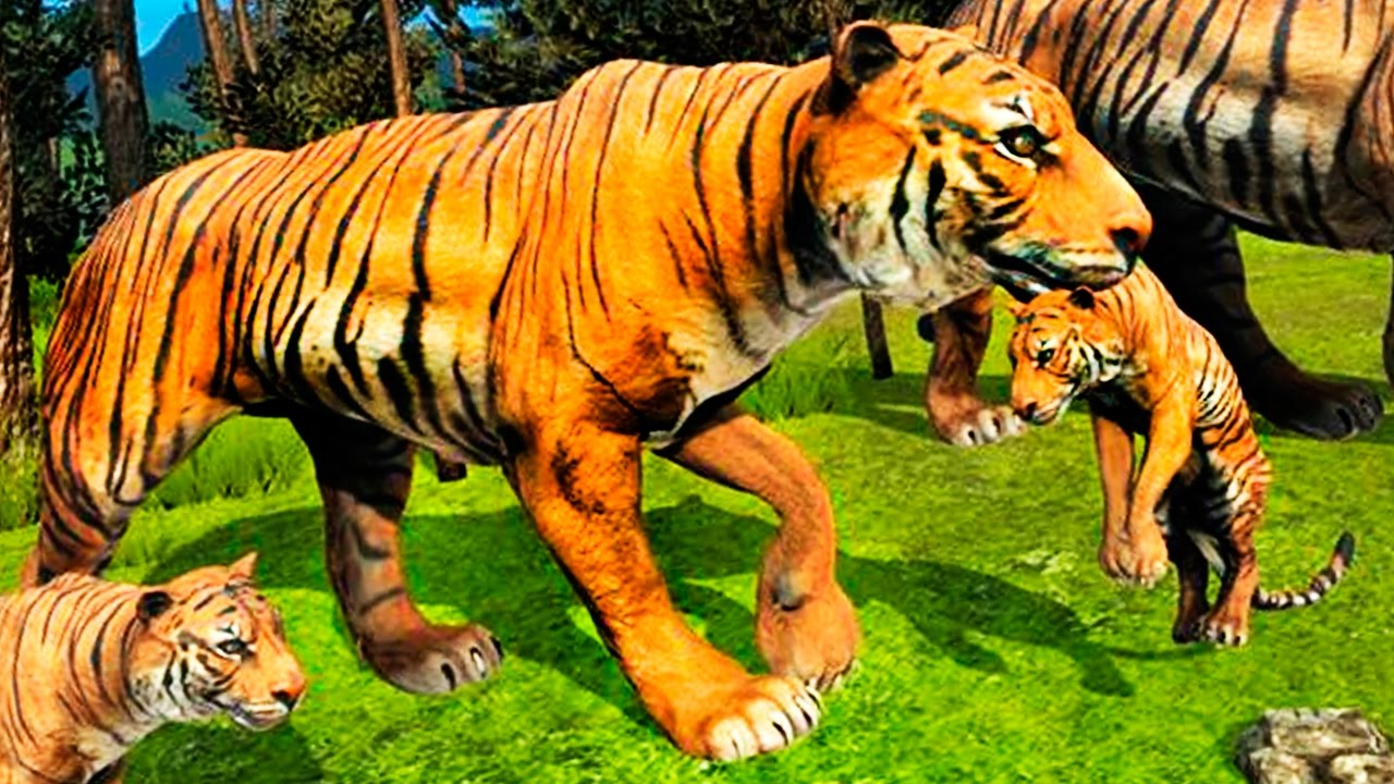 Tigers of the Forest (by Wild Foot Games) Android Gameplay HD Video