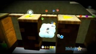 Super Mario Galaxy 2 Walkthrough - Whomp Silver Star Speed Run - Star 103