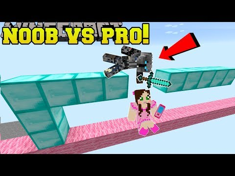 Minecraft: NOOB VS PRO!!! – CRAFTY MONKEY! – Mini-Game