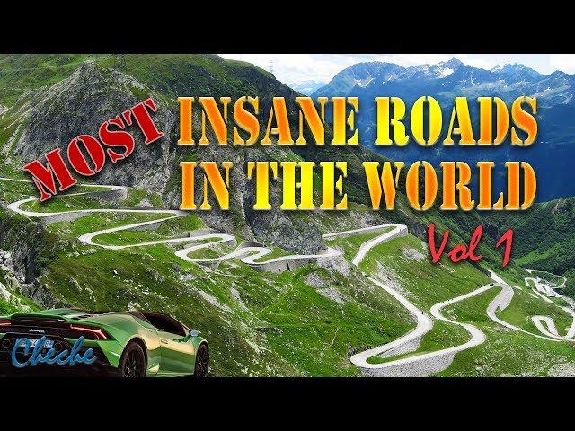 Insane Highways | Worlds Most INSANE Roads | The Most Crazy Insane Roads in the World Compilation