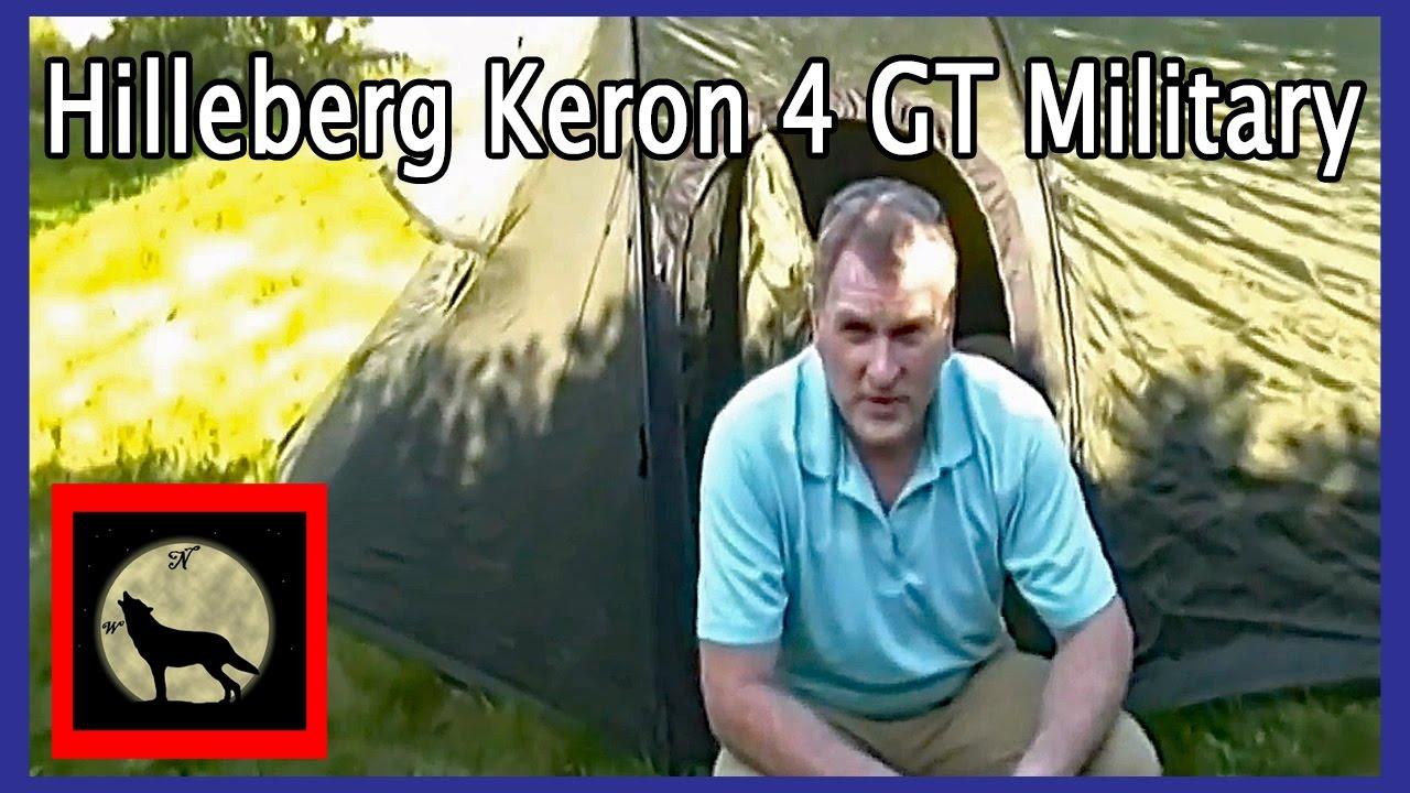 Hilleberg Keron 4 GT Military 4 Season Tent Set-up and Review  sc 1 st  YouTube & Hilleberg Keron 4 GT Military 4 Season Tent Set-up and Review ...