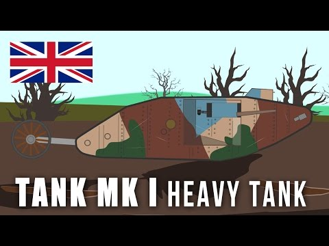 WWI Tanks: Tank Mark I Heavy Tank