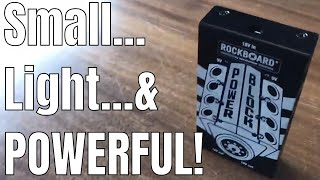Rockboard Pedalboard Power Supply Comparison/Review