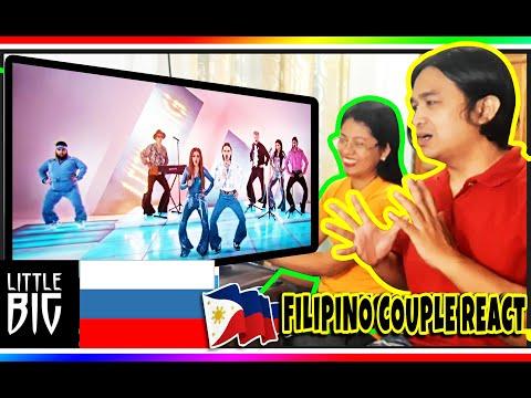 Little Big - Uno - Russia 🇷🇺 - Official Music Video - Eurovision 2020 | Filipino Couple Reaction