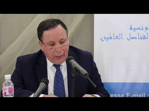 كلمة وزير الخارجية في موكب تأبين الدبلوماسيين الراحلين أحمد غزال وفتحي التونسي
