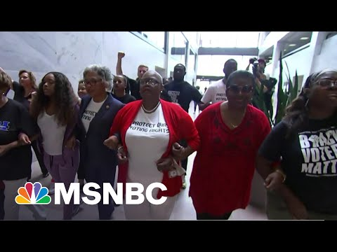 Voting Rights Activists Vow To Be Relentless In Their Fight