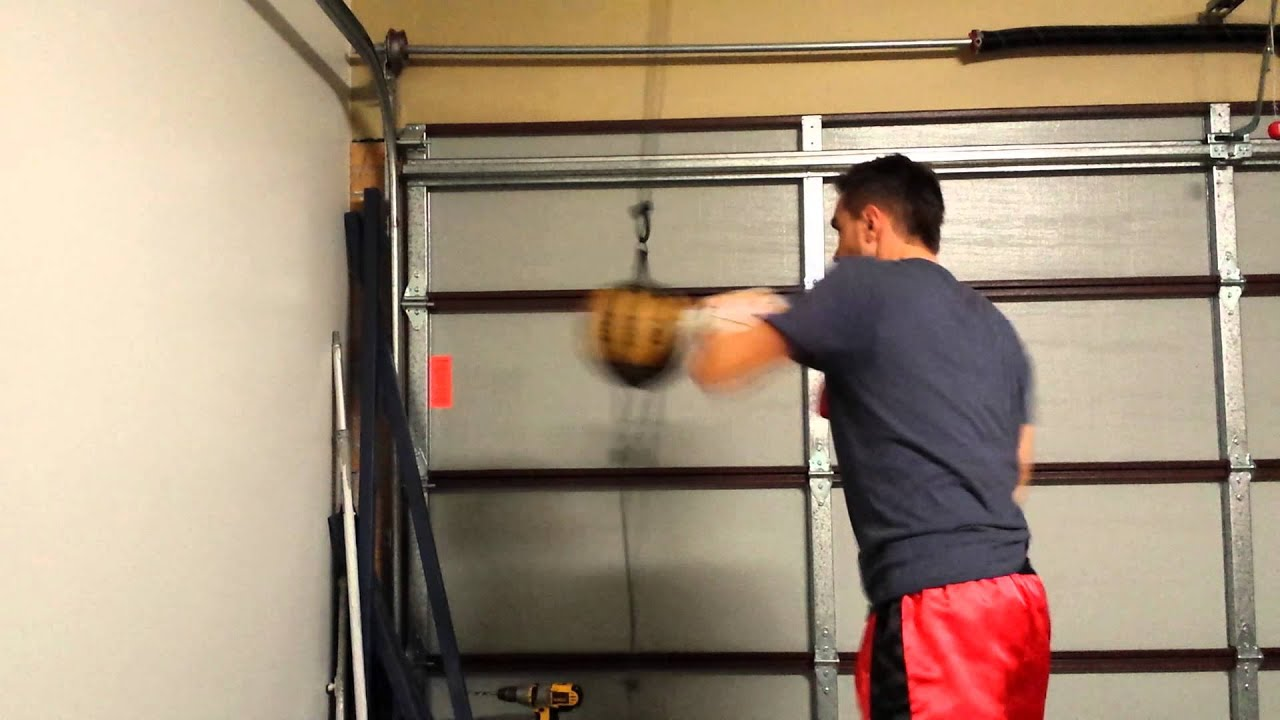 Trying Out The Rdx Floor To Ceiling Ball Youtube