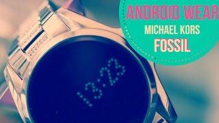 Android Wear Fossil Michael Kors: UN GIOIELLO #RECENSIONE