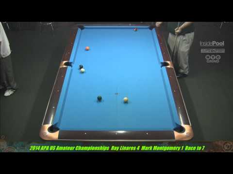 2014 US Amateur Championships Ray Linares VS Mark Montgomery