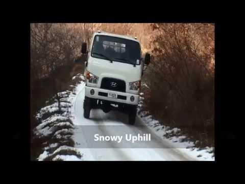 HYUNDAI MIGHTY 4WD conversion kit