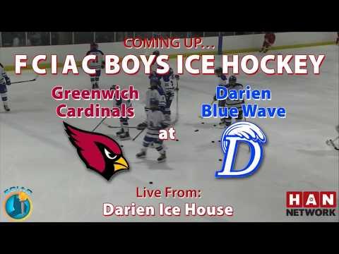 HAN Sports: Greenwich vs. Darien Boys Ice Hockey 1.13.18