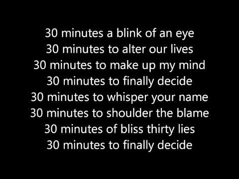 30 Minutes - Tatu - karaoke/instrumental