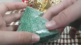 Cách làm squishy giấy 3d cây thông cho mùa giáng sinh_ Ngọc Thủy Channel