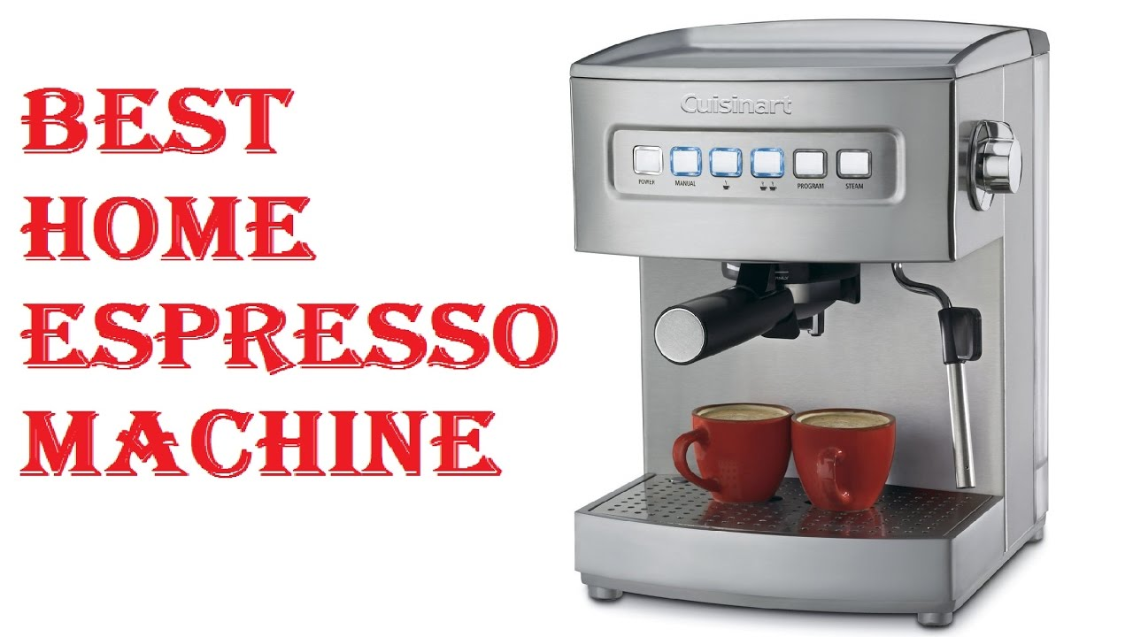 Best Home Espresso Machine Youtube