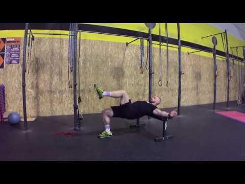 Single Leg Hip Thrust - ON AIR