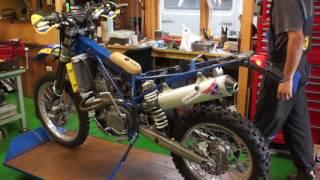 04 Husaberg FE550 Engine Restart