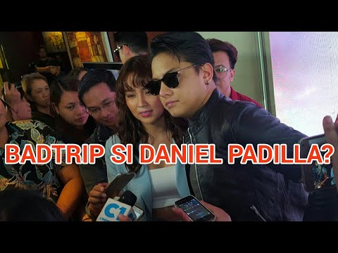 Daniel Padilla, na-badtrip sa interview?
