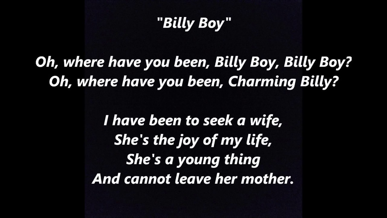 where have you been charming billy