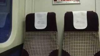 First Class Seats On A Class 365 EMU Train (05/09/2009)