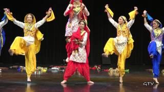Punjab Folk Dance Academy @ Bhangra Idols 2015
