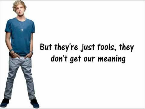 Torn Up - Cody Simpson + Lyrics on screen