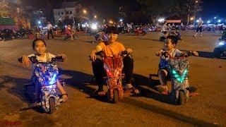 Trò Chơi Xe điện 3 bánh trẻ em Drift E Road Cùng Dainghia 25