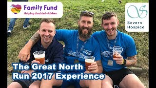 My Great North Run 2017 Experience | Half Marathon Road Running Race