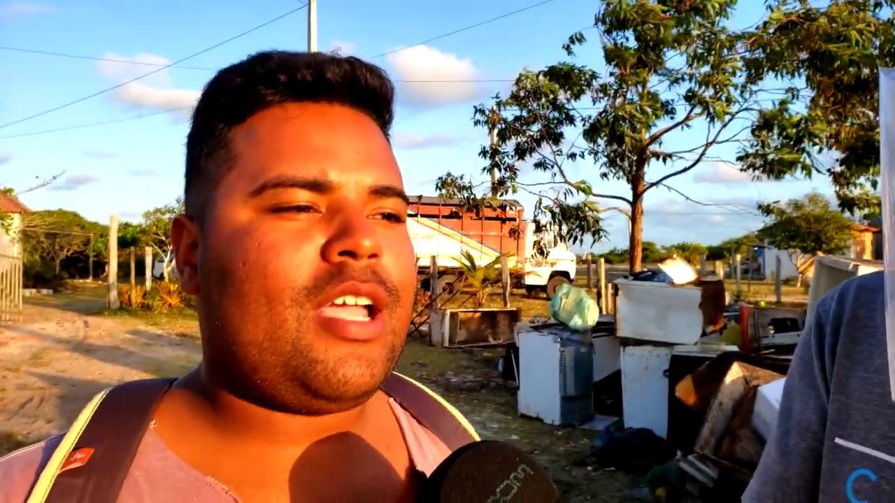 Prefeitura não faz a coleta de lixo em Caraíva como deveria. Porto Seguro-Bahia