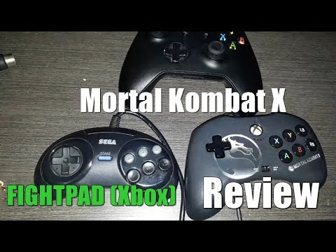 Mortal Kombat X FightPad Review (Xbox One , 360, PC)