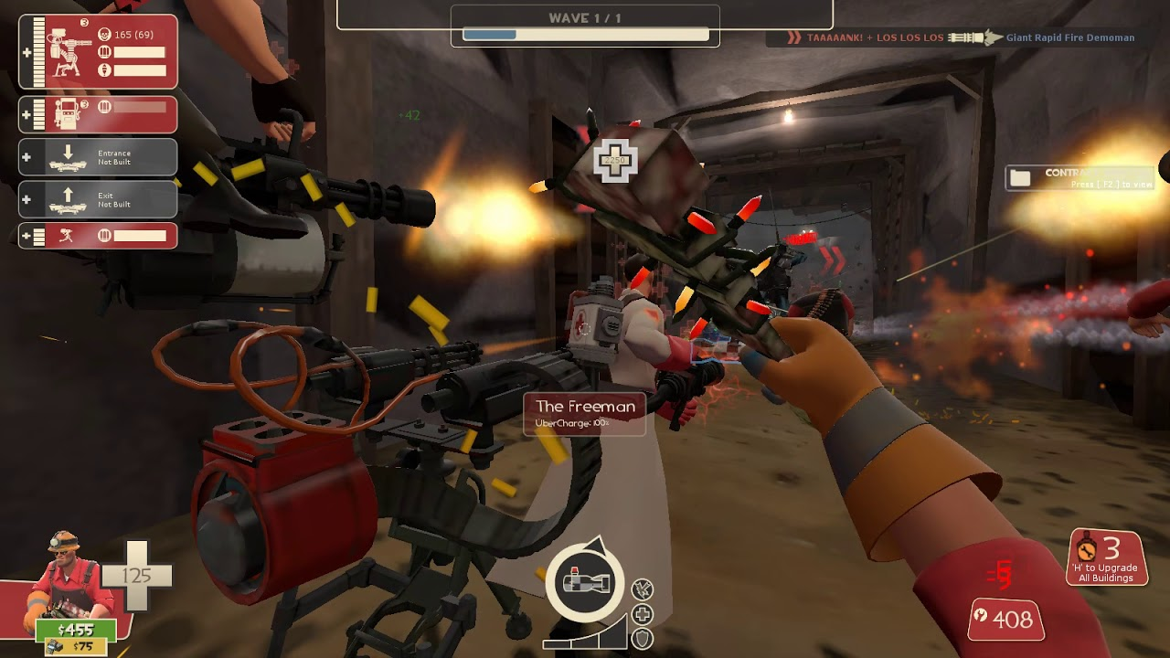 TF2 MvM How To Move Bots With Cheats-(Sort of)