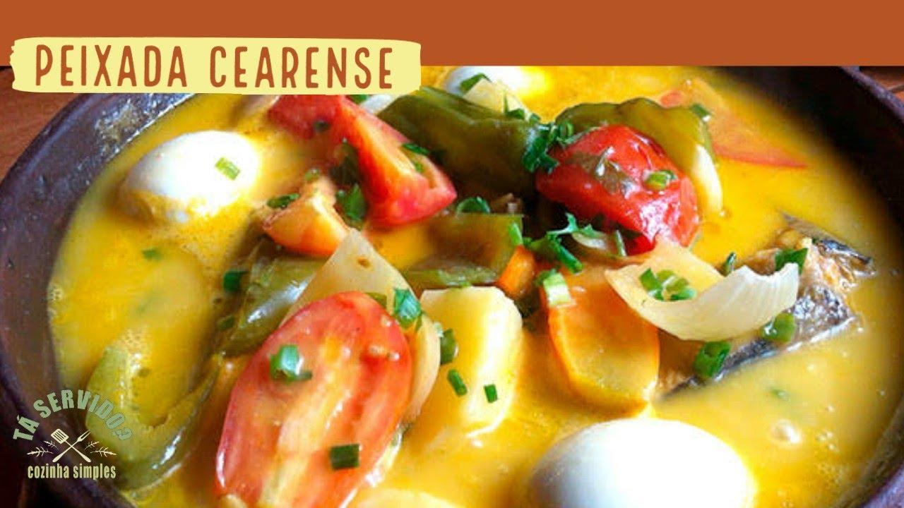 Receita de Peixada Cearense - Prática e deliciosa!!