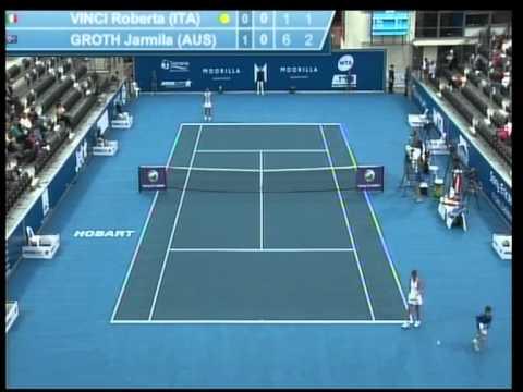 Jarmilla Groth Vs Roberta Vinci quarter final full match