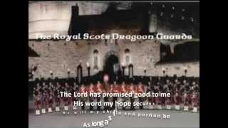 Amazing Grace 7 verses w Lyrics The Royal Scots Dragoon Guards Bagpipes