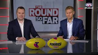 The worrying sign for the Pies | The Round So Far | Finals Week Two, 2018 | AFL