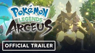 Pokemon Legends: Arceus - Official Noble Pokémon Trailer