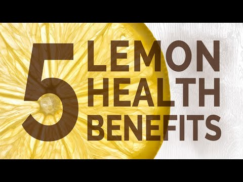 Top 5 Health Benefits of Lemons