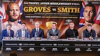 George Groves vs Callum Smith | WBSS FINAL | FULL PRESS CONFERENCE