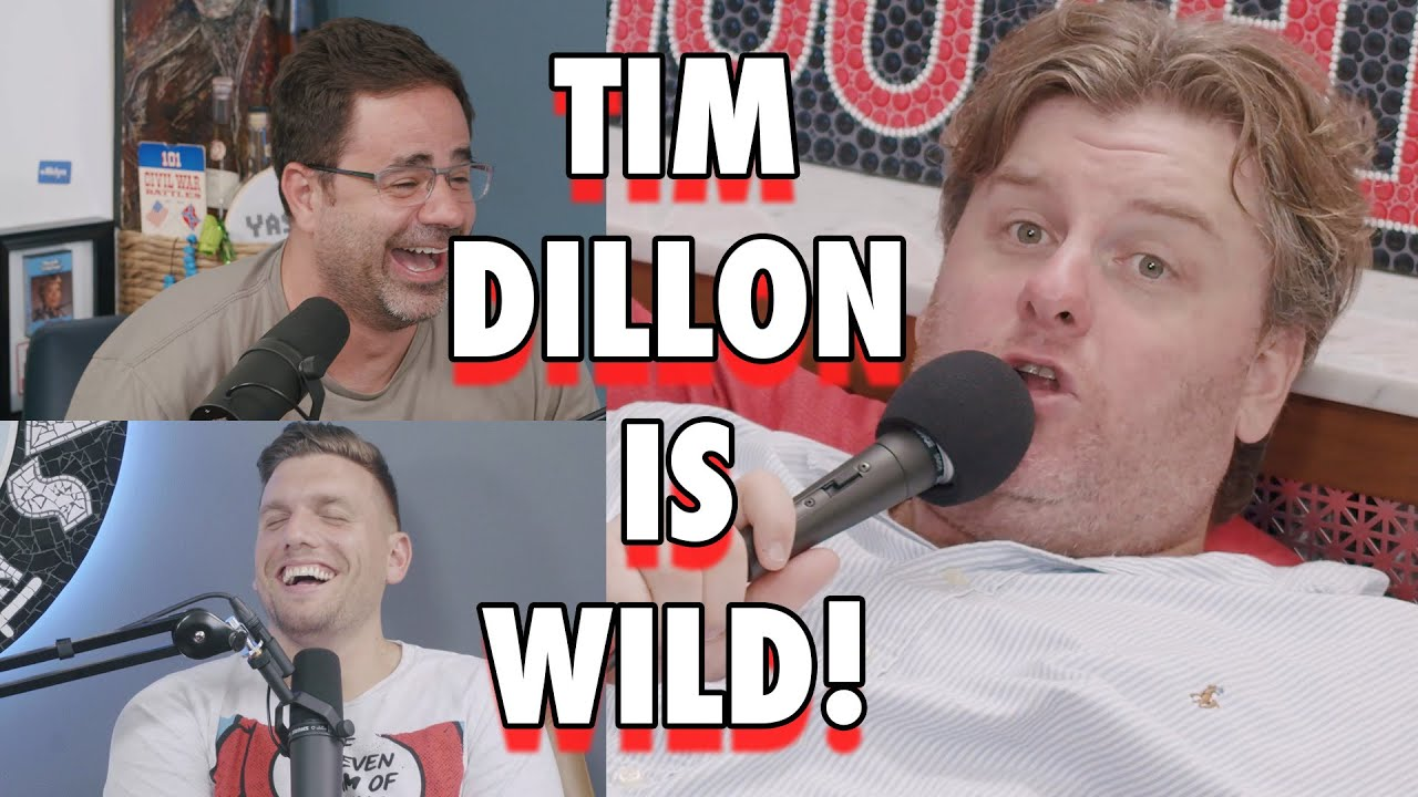 Tim Dillon is WILD!