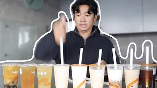 Rating and taste testing popular milk teas! (CoCo) 🤤