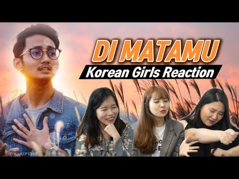Korean Girls React to 'Di Matamu' |Sufian Suhaimi|Blimey