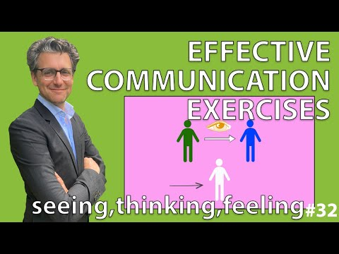 Effective Communication Exercises - Seeing, Thinking, Feeling #32