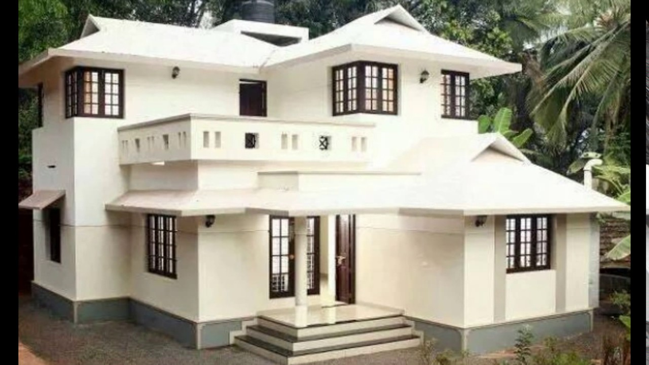 Kerala style house plans youtube for Colonial style home design in kerala