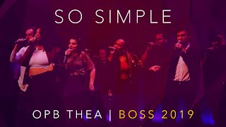 So Simple (opb. Thea) - Mixed Mode - Boston Sings [BOSS] 2019