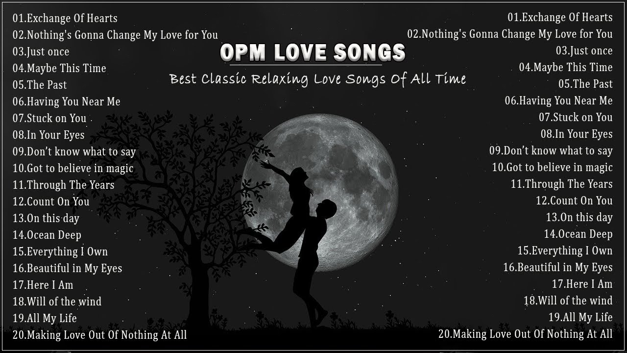 OPM Love Songs - Relax The Deep Love Of The 80's 90's - The Best Of OPM Favorites